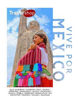 Folleto Travel Shop