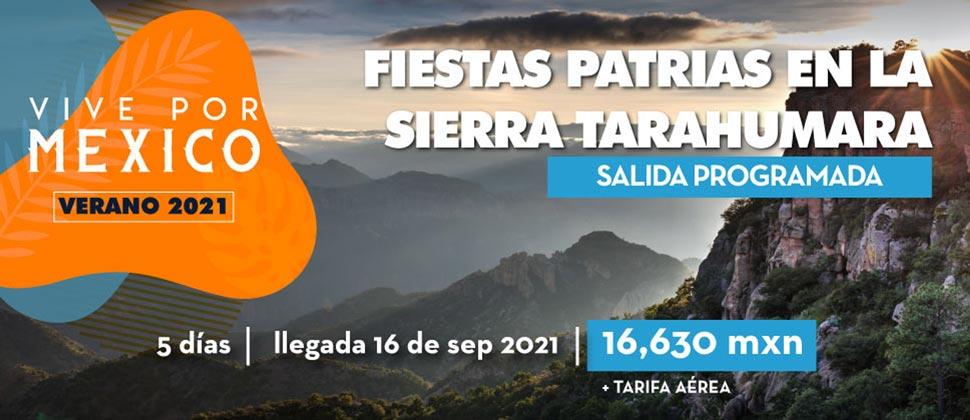 FIESTAS PATRIAS EN LA SIERRA TARAHUMARA